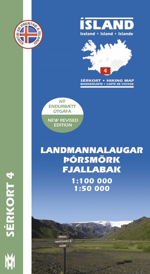 Cartes de randonnée Islande