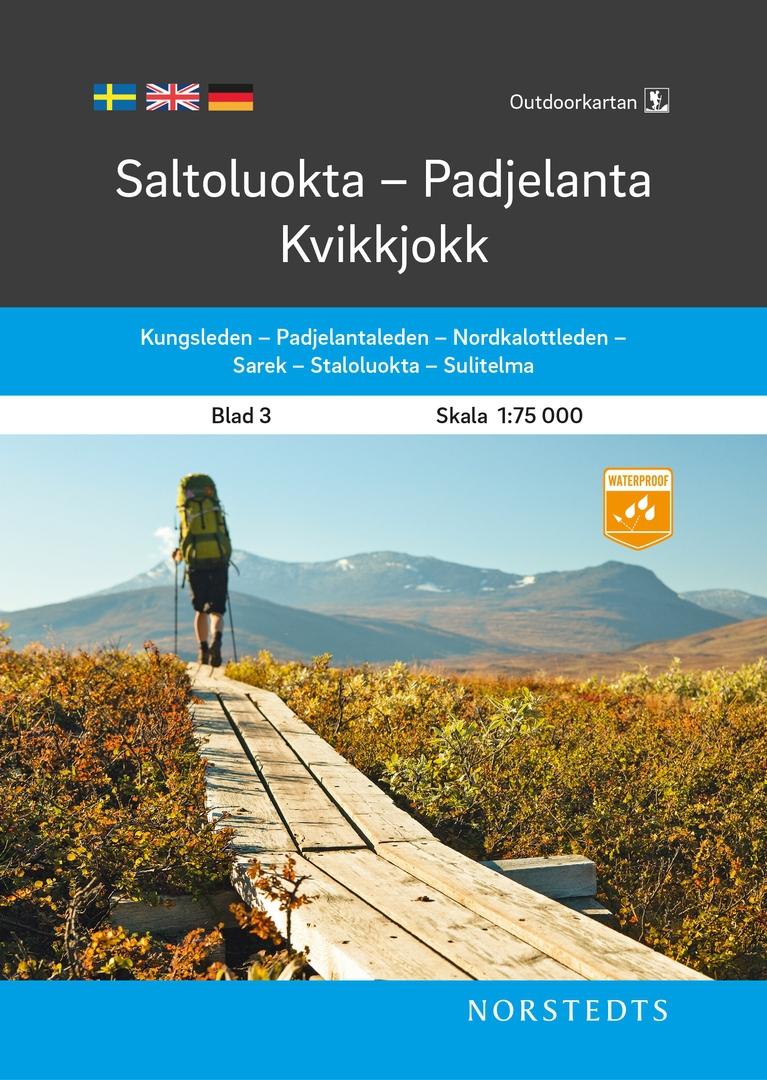 Cartes de randonnée Suède