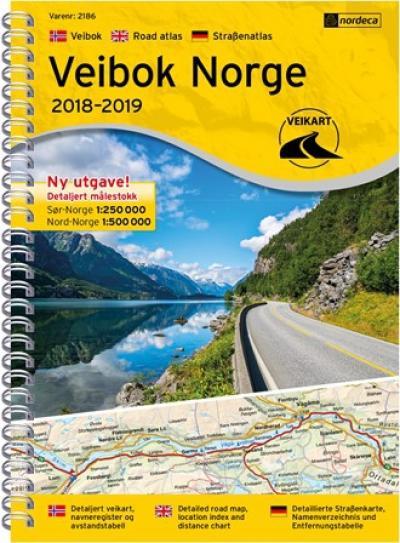 Cartes de randonnée Norvège