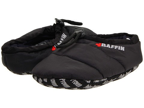 Baffin Chaussons Cush Noir - Chaussures Chaussons