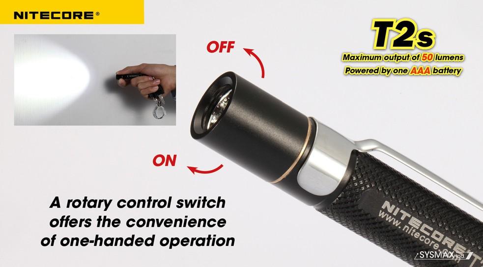 Lampe de poche nitecore t2s Mode d emploi lampe berger