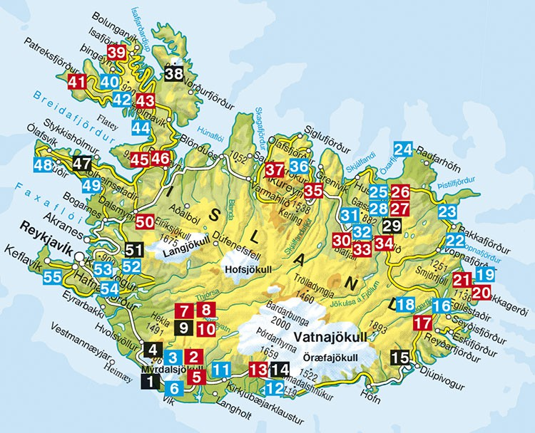 islande guide de randonn es rother les 55 plus belles randonn es entre mer et montagne. Black Bedroom Furniture Sets. Home Design Ideas