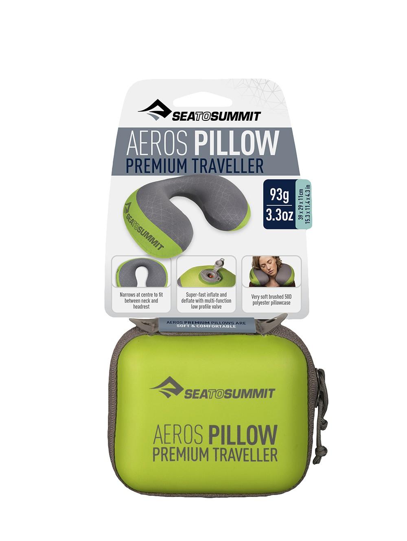 Aeros Pillow Premium Traveller Oreiller De Voyage Sea To