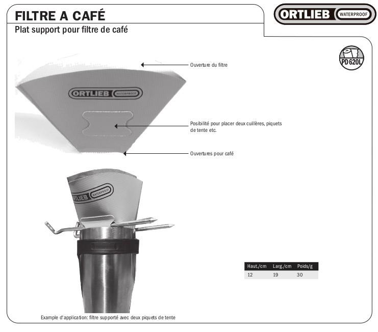 filtre caf ortlieb pour pr parer un caf en randonn e. Black Bedroom Furniture Sets. Home Design Ideas