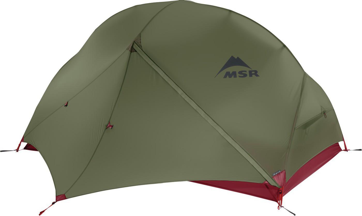 065ecd150829a Msr Hubba Hubba NX Green - Tente ultra-légère - 3 saisons - 2 personnes