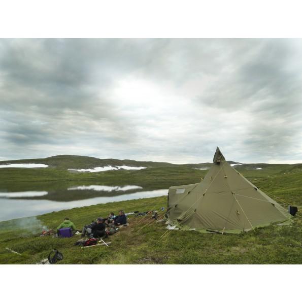 Helsport Varanger 4 6 Camp Tente Tipi Avec 1 Abside