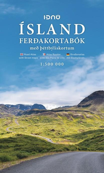 Atlas routier Ferdakort Ferðakortabók 1:500 000