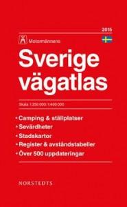 2015 Vägatlas Sverige