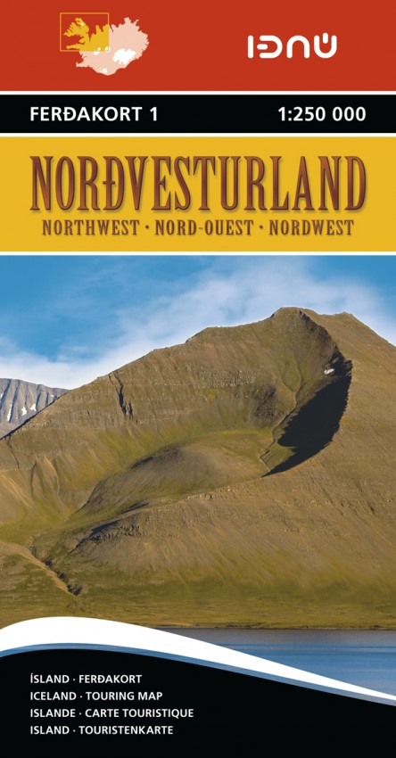 Ferdakort 1 Nordvesturland 1:250 000