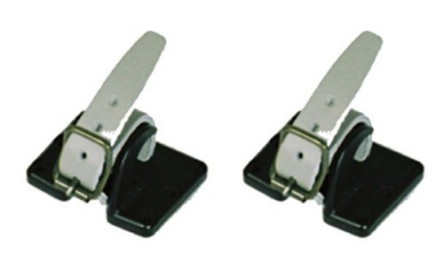 Shaft attachment with straps