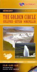 The Golden Circle : Gullfoss – Geysir – Þingvellir - 1:200 000