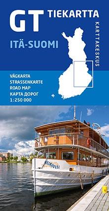 GT Tiekartta Itä-Suomi