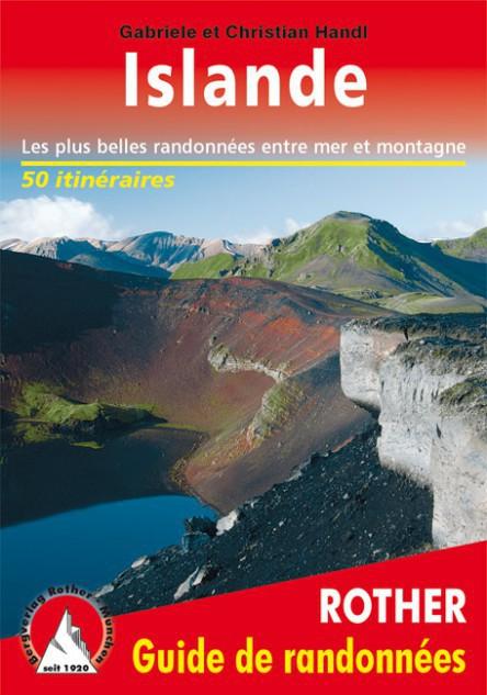 Guide de randonnée Islande - Rother