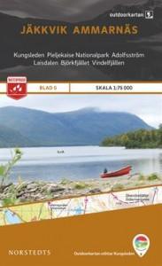 Jäkkvik-Ammarnäs 1:75 000