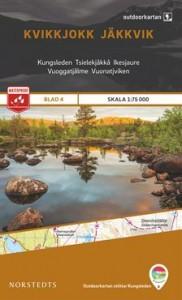 Kvikkjokk-Jäkkvik 1:75 000