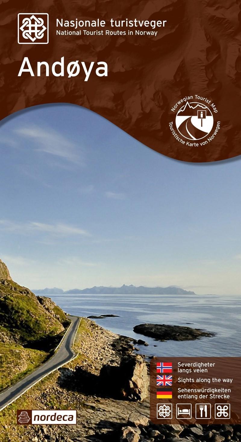 Nasjonale turistveger - Andøya 1:50 000