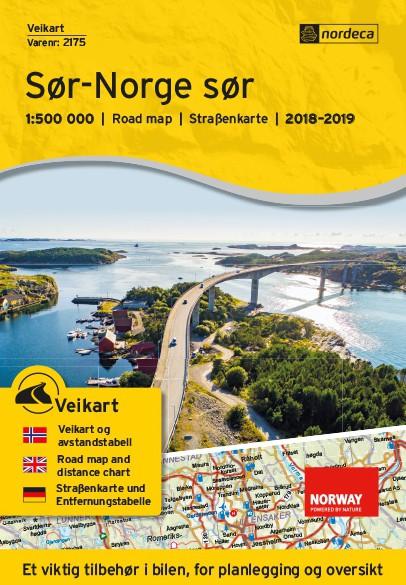 Nordeca Veikart Sør-Norge Sør