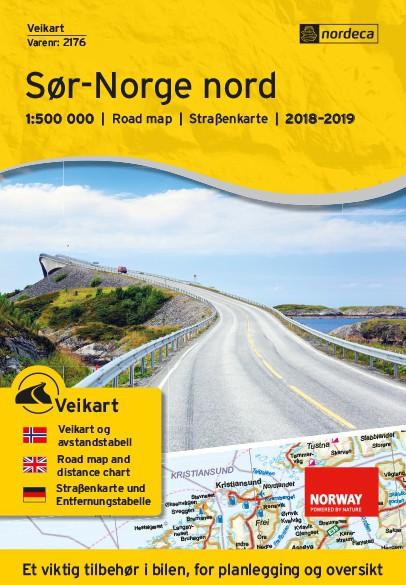 Nordeca Veikart Sør-Norge Nord