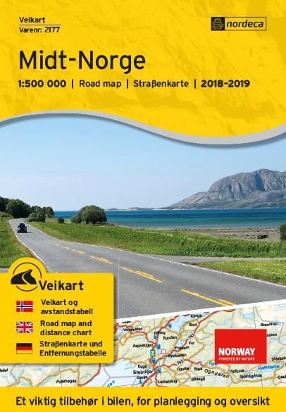 Nordeca Veikart Midt-Norge