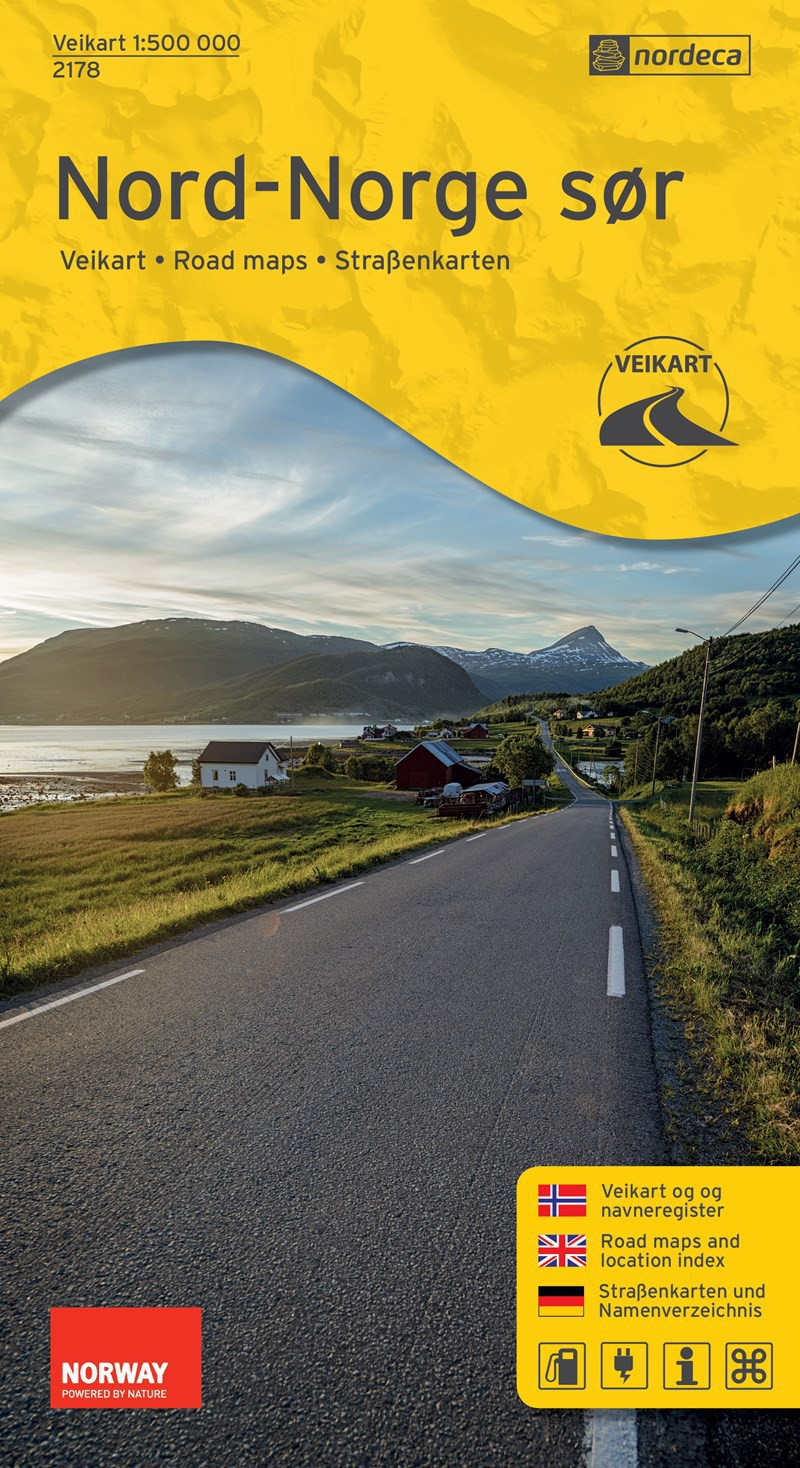 Nordeca Veikart Nord-Norge Sør