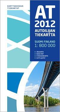 Carte routière Finlande 1 : 800 000