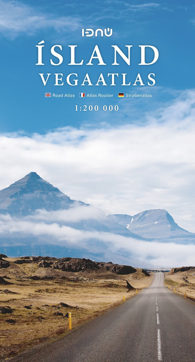 Atlas routier Ferdakort 1 : 200 000