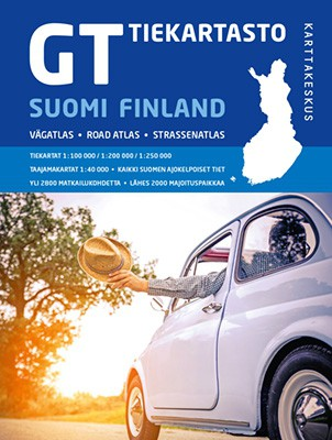 GT Road Atlas Finland 2018