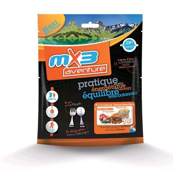 Bœuf Bourguignon et Pâtes - MX3