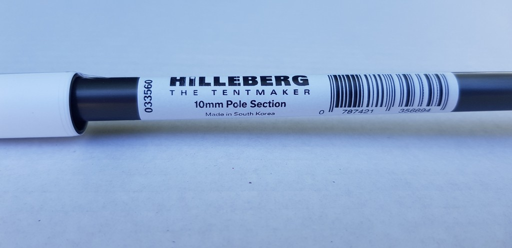 Brin d'arceau Hilleberg Pole Section 10mm