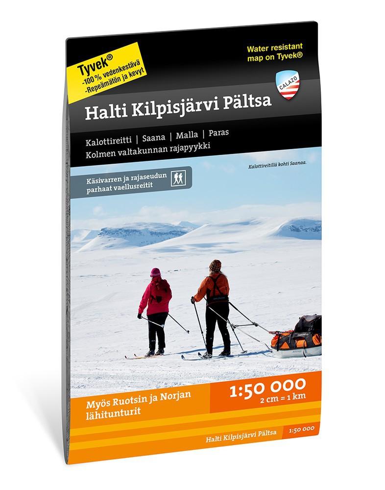 Calazo Halti Kilpisjärvi Pältsa 1:50 000