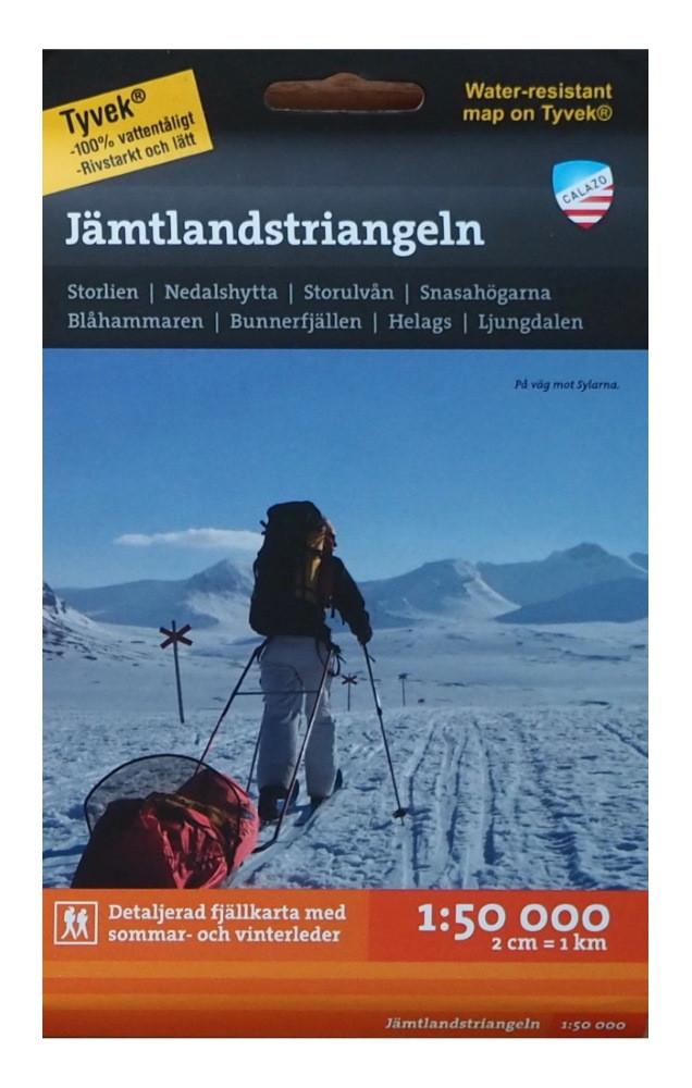 Calazo Jämtlandstriangeln 1:50 000
