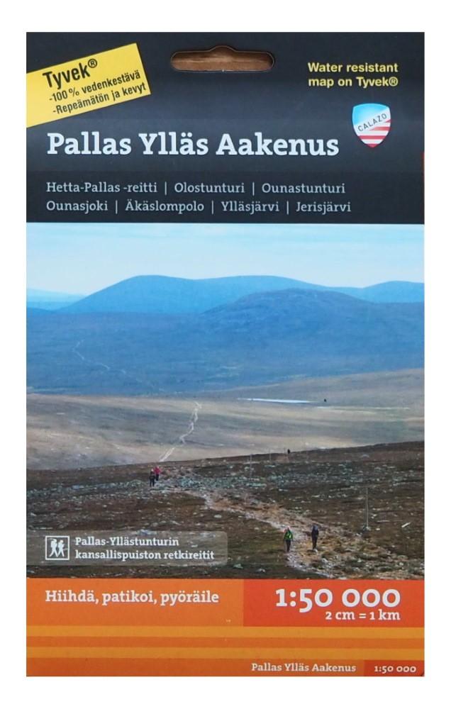 Calazo Pallas Ylläs Aakenus 1:50 000