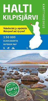 Halti Kilpisjärvi 1:50 000