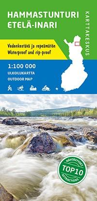 Hammastunturi Southern Inari 1:100 000 - Finland