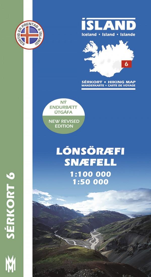 Lónsöræfi, Snæfell 1:100 000 – Sérkort 6