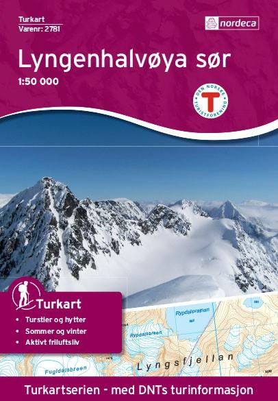 Lyngenhalvøya Sør 1:50 000