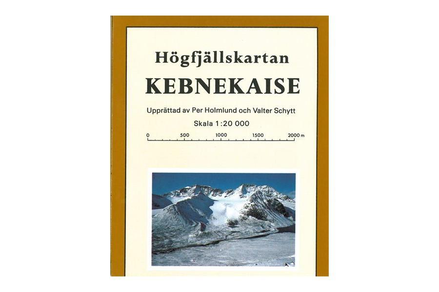 Kebnekaise - Högfjällskartan