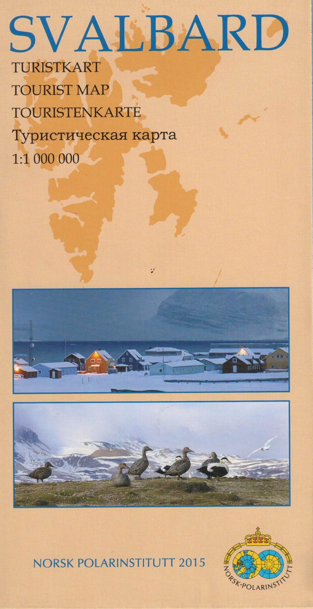 Svalbard 1:1 000 000 - Carte du Spitzberg