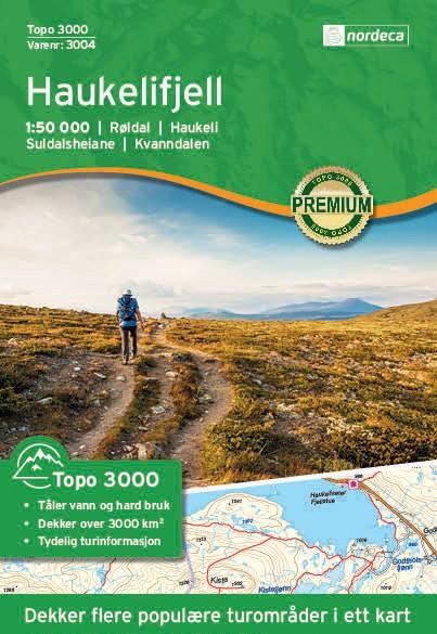 Haukelifjell 1:50 000