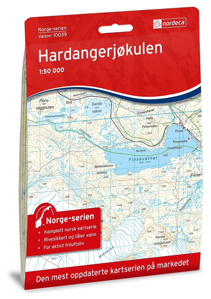 Hardangerjøkulen Nordeca  10039