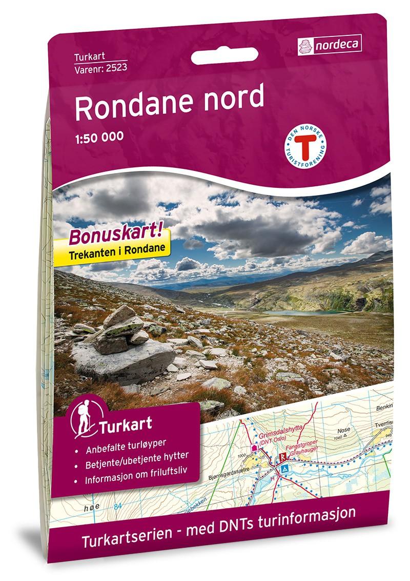 Rondane Nord 1:50 000