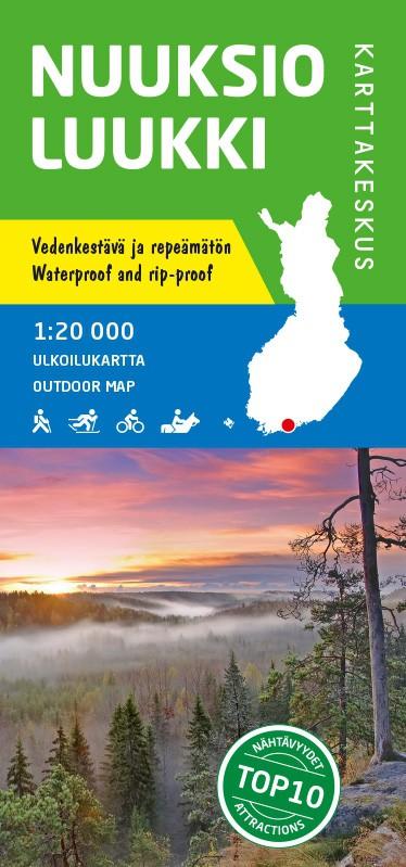 Nuuksio Luukki Outdoor Map, 1:20 000
