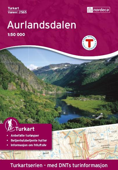 Aurlandsdalen 1:50 000