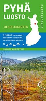 Pyhä-Luosto 1:50 000, Outdoor Map