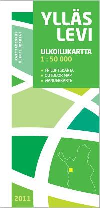 Ylläs Levi Outdoor Map 1:50 000