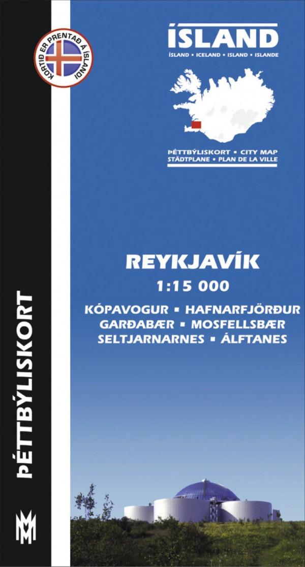 Reykjavík og nágrenni 1:15 000