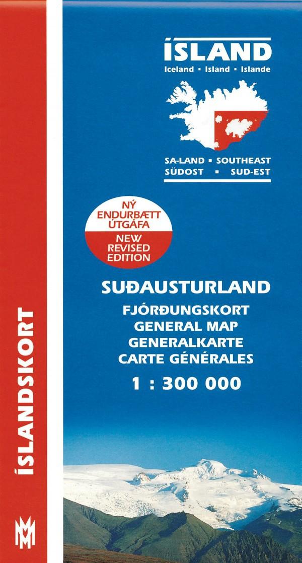 Suð-Austurland 1:300 000