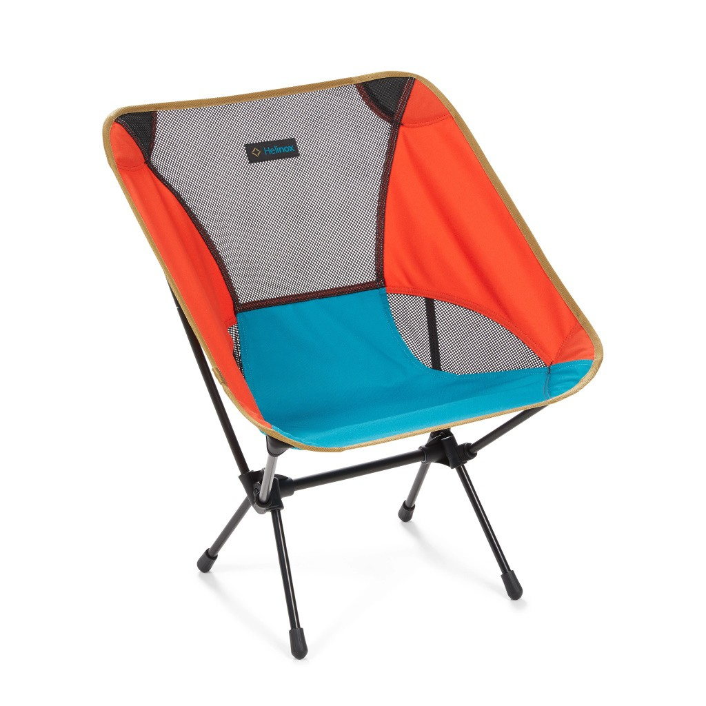 Chaise Helinox Chair Rouge / Bleu / Gris - Multi Block