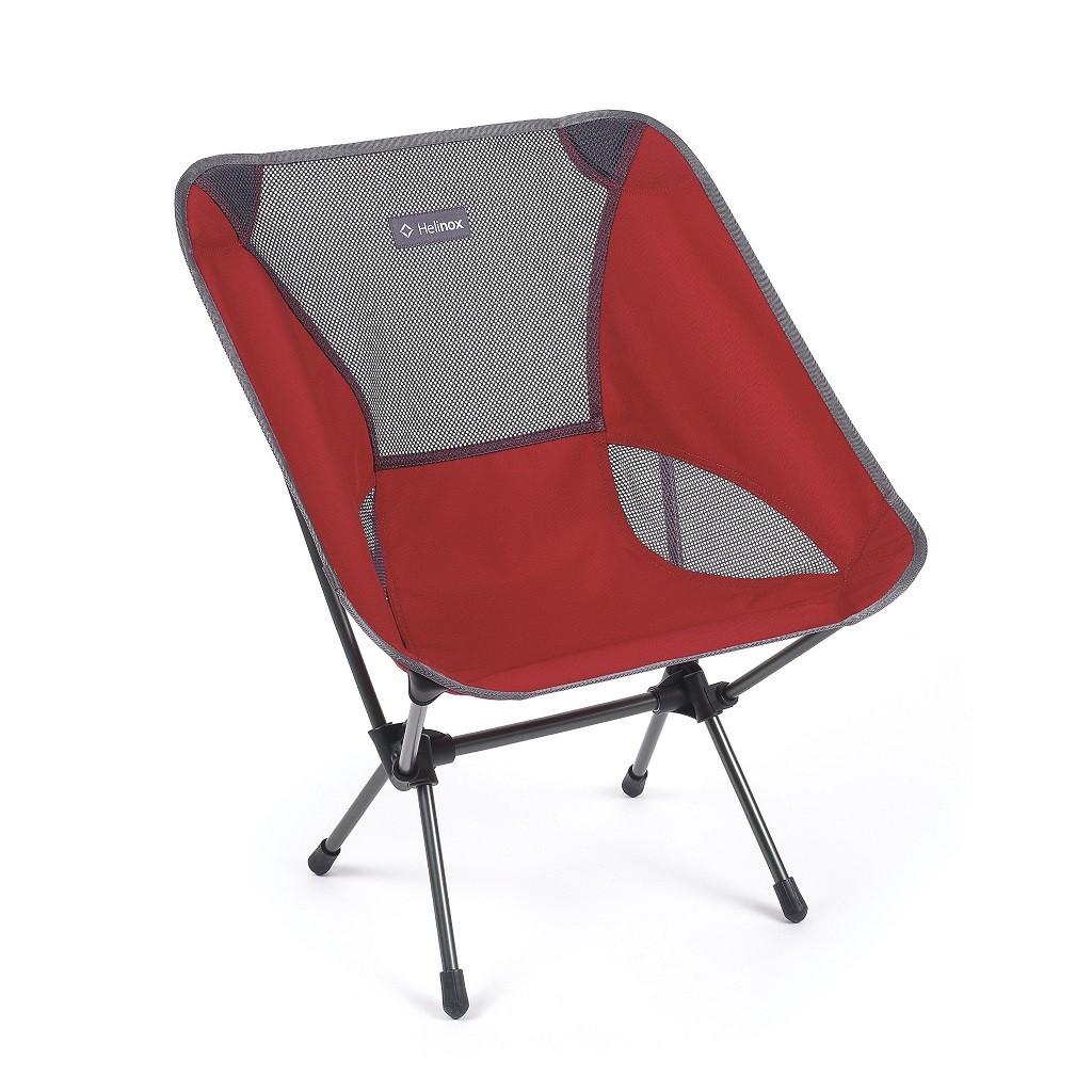 Chaise Helinox Chair Bordeaux / Scarlet Iron
