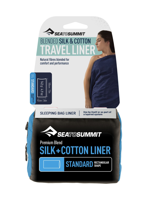 Drap Silk + Coton Travel Liner Sea to Summit